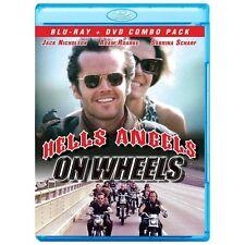 Hells Angels On Wheels (Blu-ray & DVD 2-Disc Set, Case, Artwork 1967 2013)