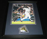 Dave Justice Signed Framed 11x14 Photo Display World Series Yankees