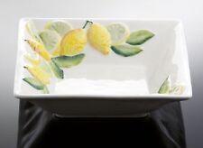 BASSANO quadratische Servierschale Schüssel 25x25 italienische Keramik