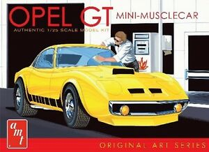 2013 AMT 729 1/25 BUICK OPEL GT  Molded in white Car Model Kit new in box