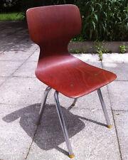 Chaise d'enfant ECOLE An 70's  pagwood pagholtz (1)
