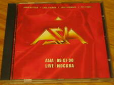 ASIA LIVE IN MOSCOW 1st EDITION RARE OOP CD