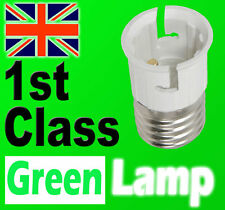 Lamp Light Bulb Socket Base Converter Edison Screw Bayonet Cap E27 to B22