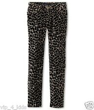 JUICY COUTURE GIRLS corduroy Animal Printed SKINNY JEANS size 5 new $98