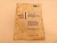 Atlas-Copco ROC 742H, 842HCS Hydraulic Crawler Drill Operator's Manual