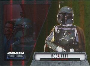 Star Wars Evolution 2016 Gold Parallel Card #53 Boba Fett