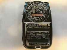 New listing General Electric GE DW-49 Exposure Light Meter - w/ Leather Case EUC