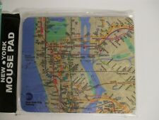New York City Mouse Pad Mousepad Mauspad 23 cm U-Bahn Netz Metro NEU