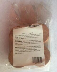 Household Essentials 14316-1 Cedar Fresh Red Cedar Wood Rings for Hangers | S...