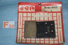 2 plaquettes de frein avant origine SUZUKI GS 550 ES ESE EF ESF ESG 1983/1986