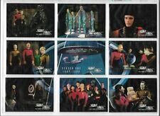 1994 SKYBOX STAR TREK NEXT GENERATION TRADING CARDS SEASON 1,2,3,4,5,6 & INSERT