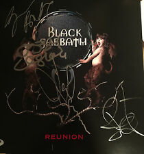Black Sabbath Signed PROMO RECORD FLAT IN PERSON PSA/DNA LETTER!!!!!!!!W/PROOF