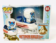 Disney Parks Exclusive Funko Pop Matterhorn Bobsled & Abominable Snowman #65 New