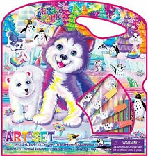 New listing Lisa Frank Art Set in Carrying Case