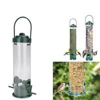 NEW Plastic PREMIUM BIRD FEEDING STATION SET WITH FEEDERS WILD FEEDERS BIR UKGRL