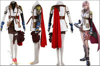 Final Fantasy 13/FF13 Lightning Costume Cosplay Custom Luxury Version