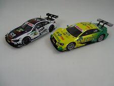 Carrera Evolution Audi A5 DTM Rockenfeller 27473 + BMW M4 DTM Wittmann 27499
