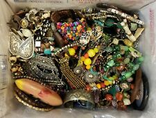 Boho Bohemian Hippie Jewelry Lot Necklace Bracelet Earrings Ring Almost 7 lbs