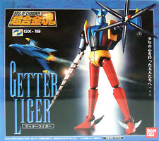 Used Banadai Soul of Chogokin GX-19 Getter Liger Figure