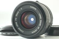 EXC+5 Canon New FD NFD 35mm f2 MF Wide Angle Lens From JAPAN #F684