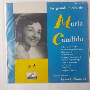 MARIA CANDIDO : LES GRANDS SUCCES (vol. 2) ♦ LP 25 cm ♦ 33t.
