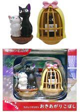 Ensky Kiki's Delivery Service Roly-Poly Yura Okiagari Tumble Toy Figure Set Jiji