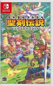 Secret of Mana Seiken Densetsu Collection (Japanese version) Nintendo Switch