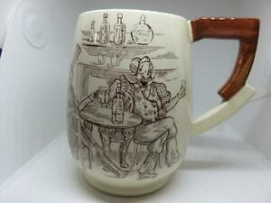 Carlton Ware  zig zag handle mug .. We are given our relations , 1409