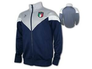 Puma FIGC Italien Jacke blau Italia Iconic Track Top Squadra Azzurra Gr. S - XXL