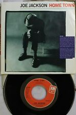 Rock Picture Sleeve Promo 45 Joe Jackson - Home Town / Home Town On A&M