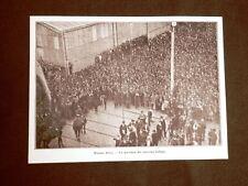 WW1 Prima guerra mondiale 1914-1918 Buenos Aires Partenza riservisti italiani