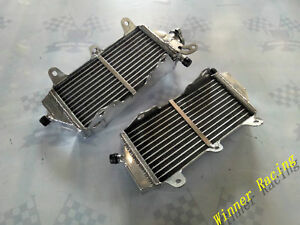 BRACED Aluminum Radiator fit YAMAHA WR450F/YZ450FX 2016-2017-2018 4-STROKE