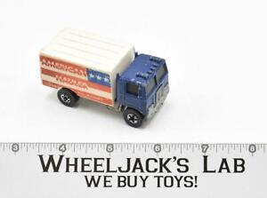 American Hauler Blue Flying Colors 1973 Blackwall Hot Wheels Mattel Vintage