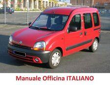 Renault Kangoo Mk1 (1997/2008) Manuale Officina Riparazioni in ITALIANO!!