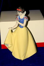 NAO BY LLADRO #1680 SNOW WHITE BRAND NIB DISNEY FLOWER SAVE$ LARGE FREE SHIPPING