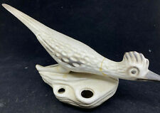 Roadrunner Vase Figurine Howard Pierce As Is Ceramic Mid Century Flower Frog