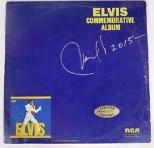 "Manuel Cuevas ELVIS PRESLEY Signed Autograph ""Commemorative Album"" Vinyl LP"