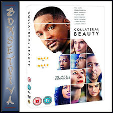COLLATERAL BEAUTY -   Will Smith & Edward Norton   *** BRAND NEW DVD**