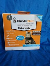 Thundershirt Insanely Calm Anxiety & Calming Aid Cats Sz S Solid Gray