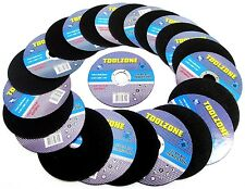 25x Stainless Steel Cutting Discs 115mm x 1.2mm x 22.2mm Angle Grinder AB037