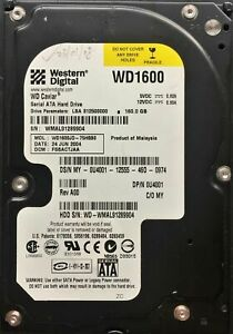 "Western Digital Sata PC 3.5"" 160 GB Hard Drive HDD"