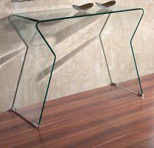 moderne konsolentische aus glas g nstig kaufen ebay. Black Bedroom Furniture Sets. Home Design Ideas
