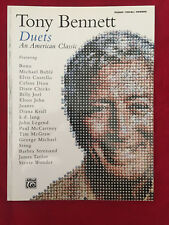 Tony Bennett -- Duets (An American Classic): Piano/Vocal/Chords Paperback Book