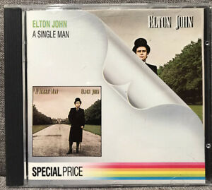 ELTON JOHN A Single Man CD Korea Picture Disc VGC FAST FREE POST