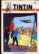 TINTIN (Edition Française)   n°  19      du  3 mars 1949