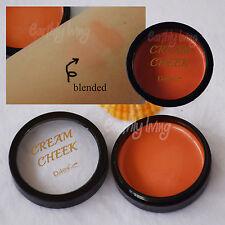 DAISO JAPAN Cream Blush ( Coral ) Orange peachy Blusher Natural Cheek stain Tint