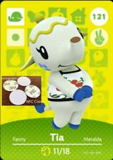 Tia NFC Tag/Coin Amiibo Card Animal Crossing New Horizons! Free Shipping!