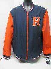 NEW - Tommy Hilfiger Varsity Letterman Jacket - Blue...