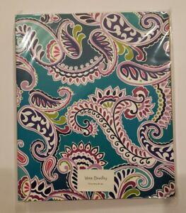 "Vera Bradley  3-Ring Binder folder with pockets 1.75"" in Waikiki Paisley NWT"