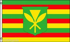 Kanaka Maoli Native Hawaiians Hawaii 5'x3' Flag !